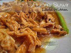 Ayam Suwir Lada Hitam