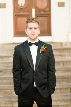 elegant groom style