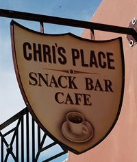Chris' Place Snack Bar Cafe in Pentati Snack Bar, Sea Level, Fishing Villages, Corfu, Greek Islands, Greece, Traditional, Greek Isles, Greece Country