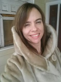 Use the Good Stuff: Thirty Days to using the good stuff you already have. Faux Fur, Fur Coat, Good Things, Sewing, Vintage, Fashion, Moda, Dressmaking, Couture