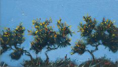 Image result for gorse shrub watercolour painting