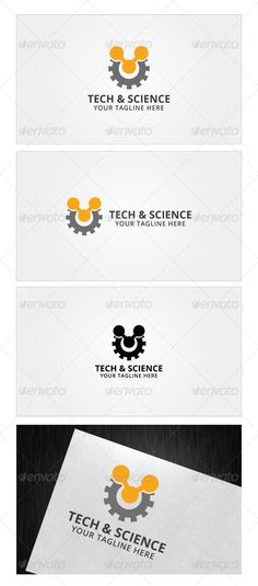 Tech And Science Logo Template - Objects Logo Templates