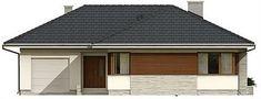 Projekt domu Driada 126,8 m2 - koszt budowy - EXTRADOM