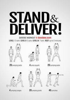 Stand And Deliver Workout