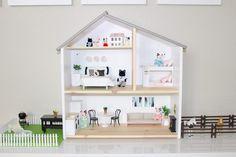 Project Nursery - IKEA Flisat Dollhouse hack