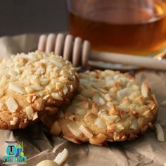 Join us  These biscuits came from a cookie recipe book I was given many years ago. I loved the look of the