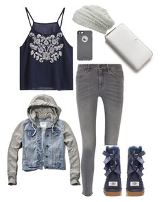 """""""I Love It!"""" by summerloveforever335 on Polyvore featuring Abercrombie & Fitch, Kate Spade, maurices, MiH Jeans, UGG Australia, OtterBox, women's clothing, women's fashion, women and female"""