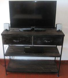 Mueble TV Flat Screen, Tv Unit Furniture, Iron, Hipster Stuff, Blood Plasma, Flatscreen, Dish Display