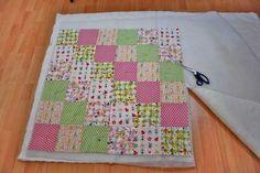 Der 3. Teil der Anleitung wie man eine Decke näht zeigt, wie man man eine Patchworkdecke quilten kann. Ein Tutorial von Pech&Schwefel