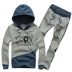 Aliexpress.com : Buy  2013 Fall new men's hoodies sports suit  Casual hoodie set  high quality Plus size M XXXL free shipping MSY004 from Reliable men's hoodies suppliers on Men's choice $35.99