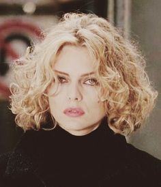 Michelle Pfeiffer as Selina Kyle / Catwoman in the movie Batman Returns.