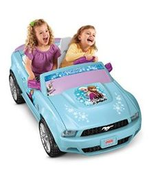 Check out the Power Wheels Disney Frozen Ford Mustang at the official Fisher-Price website. Explore the world of Power Wheels today! Barbie Power Wheels, Power Wheels Jeep, Disney Frozen Olaf, Disney S, Mustang Shop, Best Remote Control Helicopter, First Mustang, Power Cars, Ride On Toys