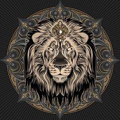 Image of Iron Lion Mandala -
