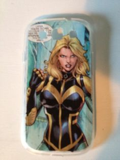 Black Canary Samsung Galaxy case by TheGeekForge on Etsy, $10.00