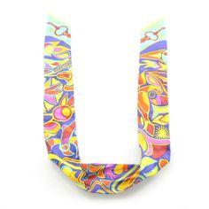 HERMES Twilly Hippie Scarf Silk
