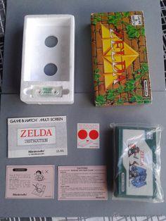 NINTENDO GAME&WATCH ZELDA ZL-65 MULTISCREEN COMPLETE BOXED NEW UNUSED RARE+++!!! R3434 - Foto 1