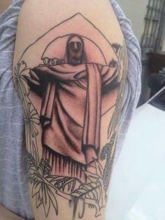 tattoo on pinterest koi christ the redeemer and evil tattoos. Black Bedroom Furniture Sets. Home Design Ideas