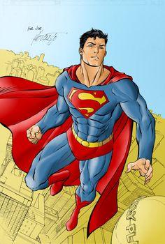 superman artwork   Superman Colours by Overdrive-DC