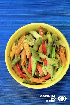 Penne, Green Beans, Carrots, Vegetarian, Vegetables, Foods, Pasta With Sardines, Macaroni Recipes, Spaghetti