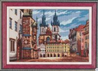 """(4) Gallery.ru / tigerfairy - Альбом """"Прага"""" Cross Stitch Patterns, Castle, Canvas, Gallery, Nature, Painting, Art, Buildings, Landscape"""