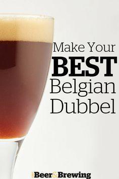 Make Your Best Belgian Dubbel - Homebrew World 2020 Beer Brewing Kits, Brewing Recipes, Homebrew Recipes, Beer Recipes, Coffee Recipes, Make Beer At Home, How To Make Beer, Brew Your Own Beer, Recipes