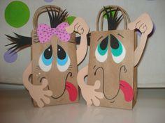 bolsas de foami para dulces para niños - Buscar con Google