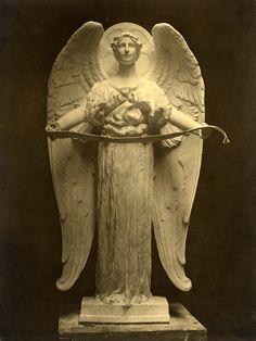 Charles Pratt Memorial Angel Sculpture by Adams 1891