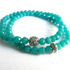 Bracelets Duo Jade - Turquesa #betsyaccessories