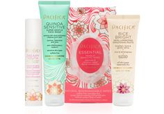 Flowers and Grains Skincare Value Set