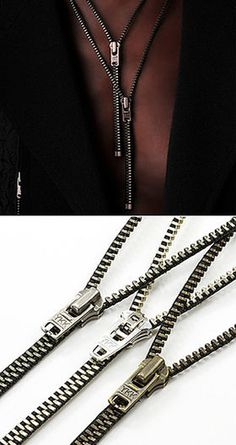 Zipper neckless