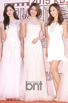 Yoona, Sooyoung, and Yuri