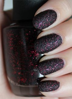 OPI Stay the Night (from the Mariah Carey Collection with Liquid Sands) #nail #nails #nailpolish