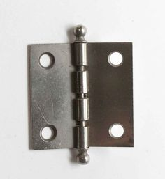 DOLLHOUSE 1//12 Miniature Pair of Flush Mount French Door Handles//Plates BRONZE