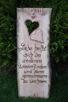 Hochzeit+♥♥Hochzeitsspruch♥♥+von+Holz-+Kreativ+auf+DaWanda.com
