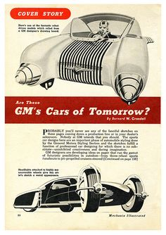 Are These GM's Cars of Tomorrow?