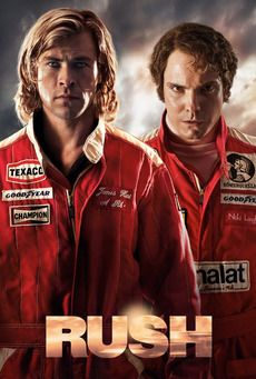Rush, watched this last night, excellent. Loved it. I loved this movie when I first saw it at the cinema.