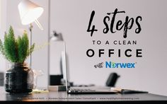 4 Quick Steps to a Clean Office with Norwex