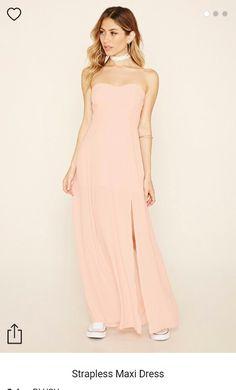 blush maxi bridesmaid | forever 21 $30