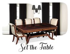 """""""set the table"""" by zoeewilliams ❤ liked on Polyvore featuring interior, interiors, interior design, home, home decor, interior decorating, Eclipse, claire's and setthetable"""