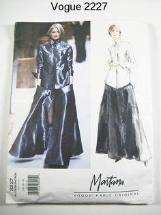 Vogue 2227  Misses' Shirt & Skirt  MONTANA  by ThePatternSource