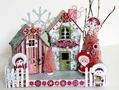 Christmas Village - Basic Grey Sugarplum