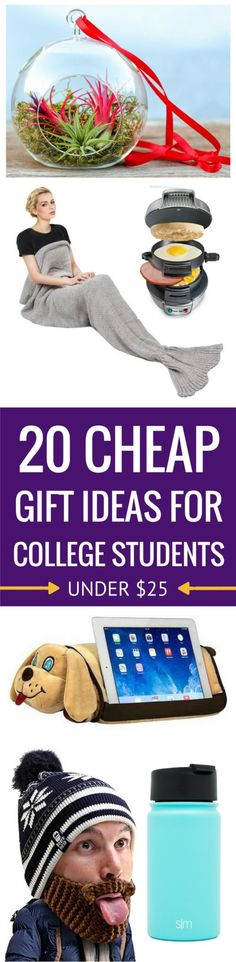 Gift Ideas For College Students | Cheap Inexpensive | Unique Presents