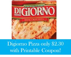 New Digiorno Pizza Coupon | $2.30 Each At Target, http://www.savingeveryday.net/?p=98168
