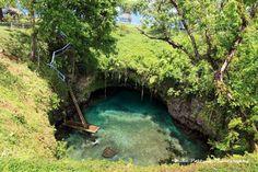 To Sua Ocean Trench Lalomanu, Upolu, Samoa