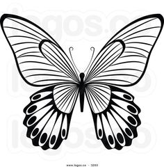 line art drawings of butterflies black white line drawing of a rh pinterest com clipart images of butterfly black and white butterfly clipart black and white