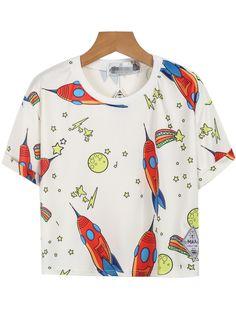 Camiseta estrella bolsillo-blanco 9.93