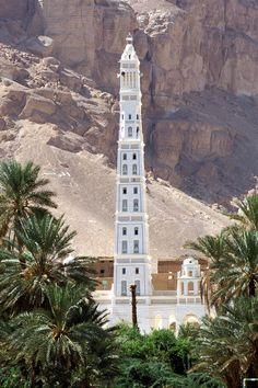 Al Mehdar Mosque - Tarim - Hadramaut / Yemen
