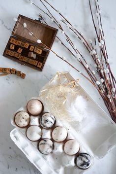 Scandinavian Style, Tea Lights, Easter, Candles, Instagram Posts, Diy, Stamps, Marble, Minimalist