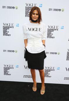 Christine Centenera Photos Photos - Vogue American Express Fashion's Night Out - Sydney - Zimbio