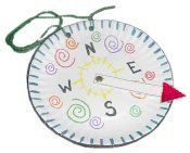 Compass Craft Idea for our travel theme!